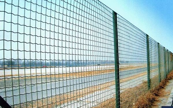 PVC Fence Euro Coated
